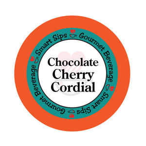 smart sips coffee chocolate cherry cordial keurig kcup k-cups