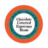 smart sips coffee chocolate covered espresso bean keurig kcup 24 count