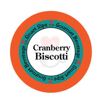 smart sips coffee cranberry biscotti keurig kcups