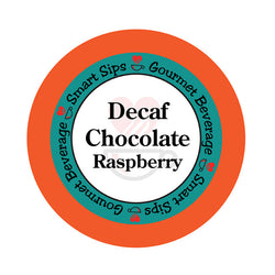 smart sips decaf decaffeinated coffee chocolate raspberry keurig kcups k-cups