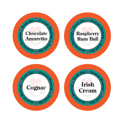 Smart Sips Coffee Raspberry Rum Ball Chocolate Amaretto Irish Cream Keurig K-cup Kcup
