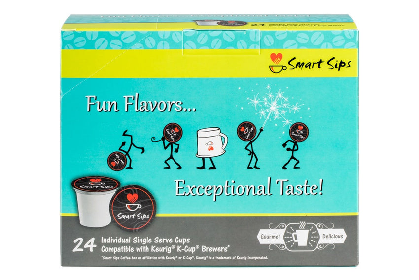 Flavor Lovers Coffee Variety Sampler Pack, 24 Count, Single Serve Cups for Keurig K-cup Brewers