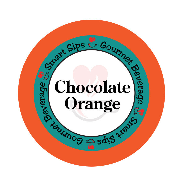 Chocolate Orange Coffee, 24 Count, Single Serve Cups Compatible With All Keurig K-cup Brewers