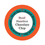 smart sips decaf decaffeinated hazelnut chocolate flavored coffee