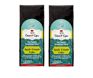 apple crumb cake ground flavored medium roast coffee smart sips