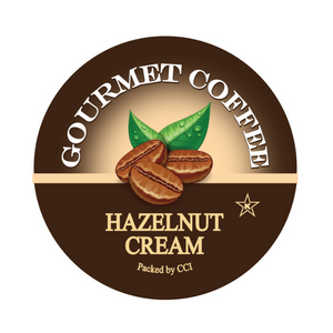 hazelnut cream flavored gourmet coffee, smart sips coffee, Coffee, Smart Sips Coffee, Single Serve, kcup, k cup, k-cup, pod, pods, keurig, kosher, no sugar, no carb, gluten free