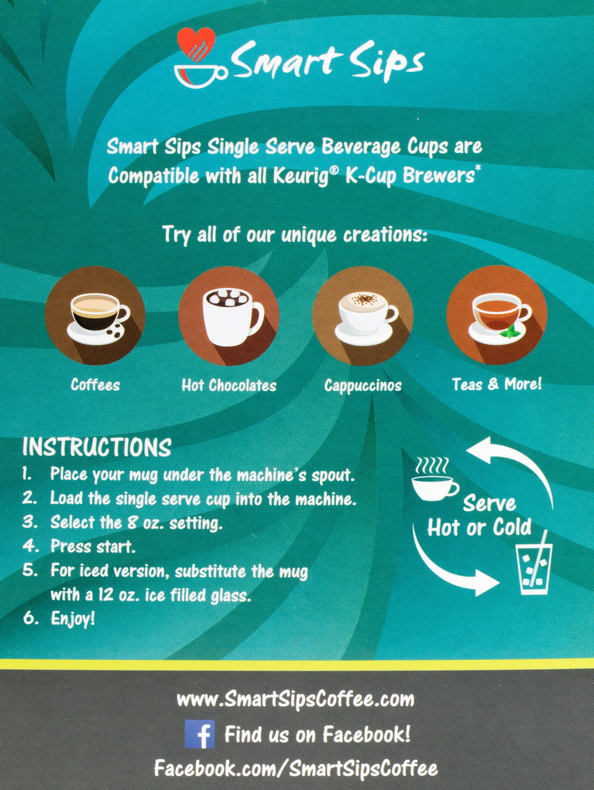 Bananas Foster Coffee, Single Serve Cups Compatible With All Keurig K-cup Brewers