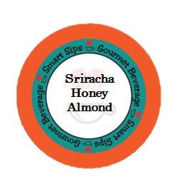 smart sips coffee sriracha honey almond kcups for keurig