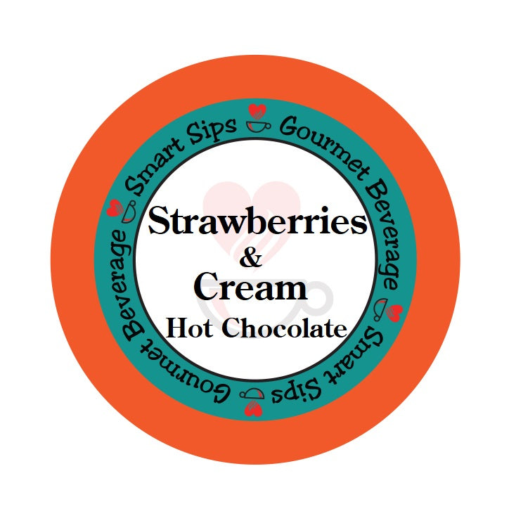Smart Sips Coffee strawberries and cream hot chocolate k-cup kcup keurig