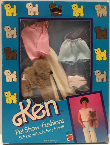 (TAS000036) - 1986 Mattel Barbie Ken Pet Show Fashions