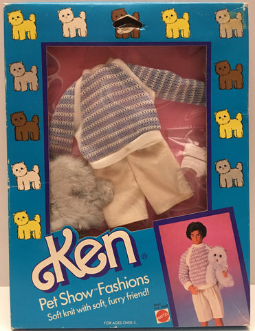 (TAS020192) - 1986 Mattel Barbie Pet Show Fashions Ken