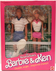 (TAS000210) - 1988 Mattel Barbie Tennis Stars Barbie & Ken