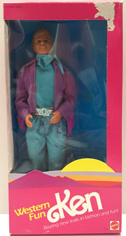 (TAS001159) - 1989 Mattel Barbie Western Fun Ken