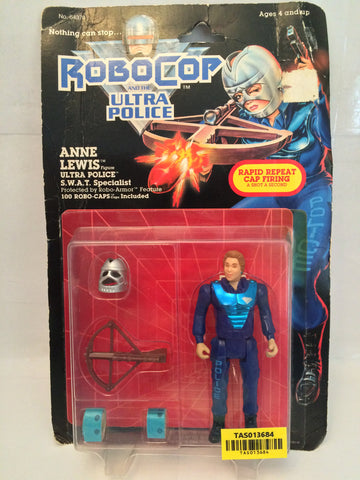 (TAS013684) - 1988 Kenner Robo Cop and the Ultra Police - Anne Lewis, , Action Figure, Kenner, The Angry Spider Vintage Toys & Collectibles Store  - 1