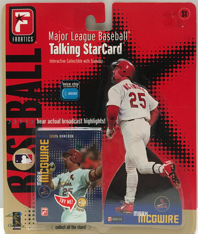 (TAS000072) - 2000 Telestar MLB Talking StarCard - Mark McGwire Cardinals