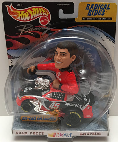 (TAS000953) - 1999 Mattel Hot Wheels Radical Rides Adam Petty #45