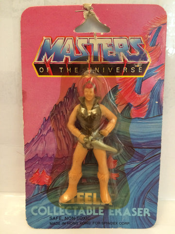 (TAS013330) - 1984 Masters of the Universe Teela Eraser, , Eraser, MOTU, The Angry Spider Vintage Toys & Collectibles Store  - 1