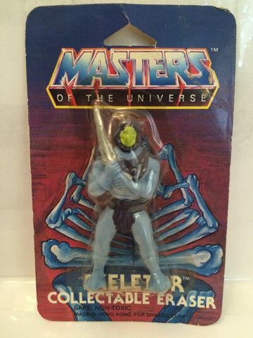 (TAS013312) - 1984 MOTU Skeletor Eraser, , Eraser, MOTU, The Angry Spider Vintage Toys & Collectibles Store  - 1