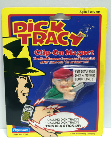 (TAS030393) - 1990 Playmates Disney Dick Tracy Clip-On Magnet - Steve The Tramp, , Magnet, Disney, The Angry Spider Vintage Toys & Collectibles Store  - 1
