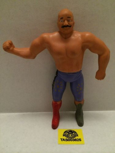 (TAS003625) - WWE WWF WCW Wrestling Bendies Action Figure - The Iron Sheik, , Sports, Varies, The Angry Spider Vintage Toys & Collectibles Store