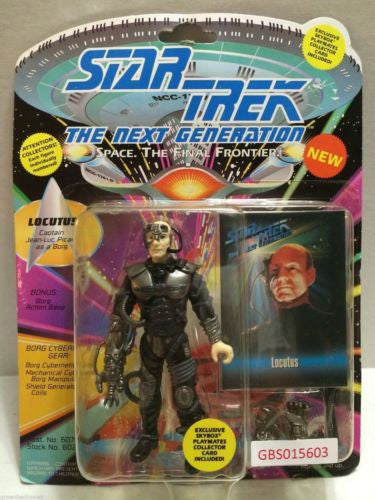 (TAS031227) - Playmates Star Trek Action Figure - Locutus, , Action Figure, Star Trek, The Angry Spider Vintage Toys & Collectibles Store