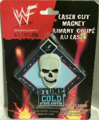 (TAS000042) - WWF WWE Wrestling Laser Cut Magnet - Stone Cold Steve Austin, , Magnet, Wrestling, The Angry Spider Vintage Toys & Collectibles Store