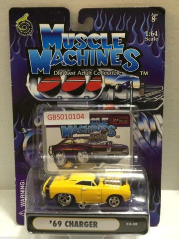 (TAS030762) - Muscle Machines Die Cast Car - '69 Charger, , Cars, Muscle Machines, The Angry Spider Vintage Toys & Collectibles Store