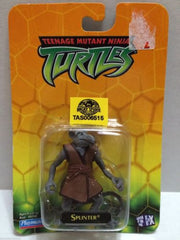 (TAS006515) - Playmates Teenage Mutant Ninja Turtles TMNT Mini Figure - Splinter, , Action Figure, TMNT, The Angry Spider Vintage Toys & Collectibles Store