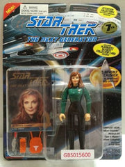 (TAS031224) - Playmates Star Trek Action Figure - Dr. Beverly Crusher, , Action Figure, Star Trek, The Angry Spider Vintage Toys & Collectibles Store