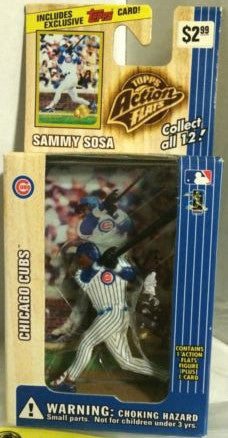 (TAS000271) - 1999 Topps Action Flats MLB Baseball - Sammy Sosa Chicago Cubs, , Action Figure, Topps, The Angry Spider Vintage Toys & Collectibles Store