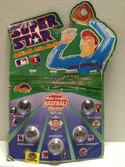 (TAS007007) - 1990 Spectra Star Super Star Baseball Marbles - Set #4, , Marbles, Spectra Star, The Angry Spider Vintage Toys & Collectibles Store