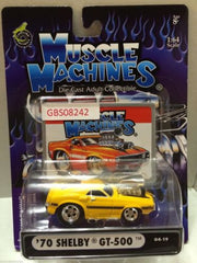 (TAS030796) - Muscle Machines Die Cast Car - '70 Shelby GT-500, , Cars, Muscle Machines, The Angry Spider Vintage Toys & Collectibles Store