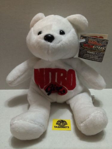 (TAS006873) - WWE WWF WCW Wrestling Nitro Girls Beanie Bear, , Dolls, Wrestling, The Angry Spider Vintage Toys & Collectibles Store