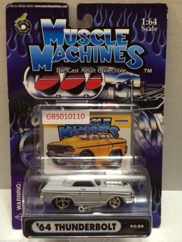(TAS030766) - Muscle Machines Die Cast Car - '64 Thunderbolt, , Cars, Muscle Machines, The Angry Spider Vintage Toys & Collectibles Store