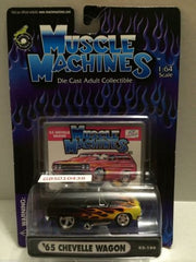 (TAS030787) - Muscle Machines Die Cast Car - '65 Chevelle Wagon, , Cars, Muscle Machines, The Angry Spider Vintage Toys & Collectibles Store