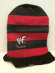 (TAS031379) - WWE WWF WCW Wrestling Red and Black Hat, , Clothing & Accessories, WWF, The Angry Spider Vintage Toys & Collectibles Store