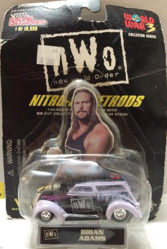(TAS006196) - WWF WCW nWo WWE Nitro-Streetrods - Brian Adams, , Trucks & Cars, Racing Champions, The Angry Spider Vintage Toys & Collectibles Store