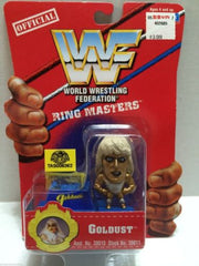 (TAS006362) - WWE WWF WCW nWo Wrestling Ring Masters Stand - Goldust, , Action Figure, Wrestling, The Angry Spider Vintage Toys & Collectibles Store