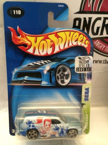 (TAS003224) - Hot Wheels - Fandango 1/5 Sega, , Cars, Hot Wheels, The Angry Spider Vintage Toys & Collectibles Store