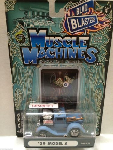 (TAS030809) - Muscle Machines Die Cast Car - '29 Model A, , Cars, Muscle Machines, The Angry Spider Vintage Toys & Collectibles Store