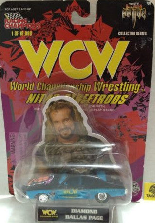 (TAS006091) - WWF WCW nWo WWE Nitro-Streetrods - DDP, , Trucks & Cars, Racing Champions, The Angry Spider Vintage Toys & Collectibles Store