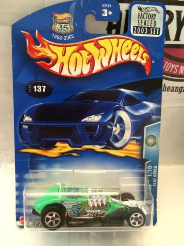 (TAS003013) - Hot Wheels - ALT Terrain 1/10 Flat Racer - Collector #137, , Cars, Hot Wheels, The Angry Spider Vintage Toys & Collectibles Store