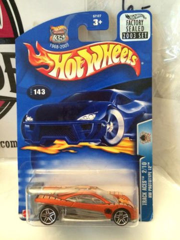(TAS004207) - Hot Wheels - Track Aces 2/10 HW Prototype 12, , Cars, Hot Wheels, The Angry Spider Vintage Toys & Collectibles Store