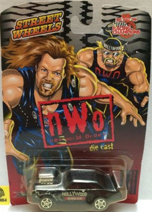 (TAS006654) - WWF WCW nWo WWE Nitro-Streetrods - Hollywood Hogan, , Trucks & Cars, Racing Champions, The Angry Spider Vintage Toys & Collectibles Store