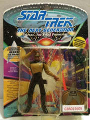 (TAS031229) - Playmates Star Trek Action Figure - Lt. Commander Geordi La Forge, , Action Figure, Star Trek, The Angry Spider Vintage Toys & Collectibles Store