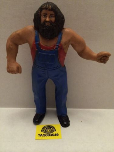 (TAS003549) - WWE WWF WCW Wrestling Bendies Action Figure - Hillbilly Jim, , Sports, Varies, The Angry Spider Vintage Toys & Collectibles Store