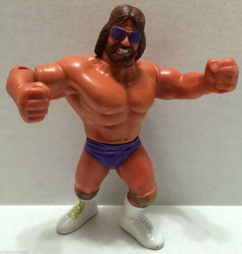 "(TAS004938) - WWF WWE WCW 1991 Titan Hasbro LJN - Randy ""Macho King"" Savage, , Action Figure, Wrestling, The Angry Spider Vintage Toys & Collectibles Store  - 1"