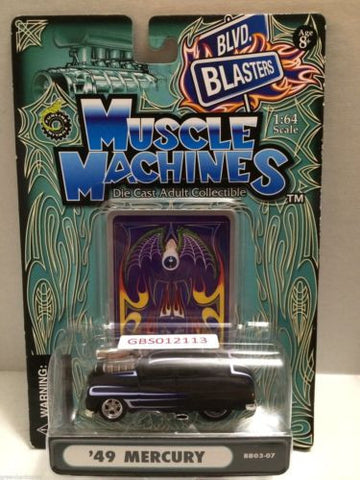 (TAS030793) - Muscle Machines Die Cast Car - '49 Mercury, , Cars, Muscle Machines, The Angry Spider Vintage Toys & Collectibles Store