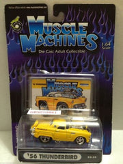 (TAS030790) - Muscle Machines Die Cast Car - '56 Thunderbird, , Cars, Muscle Machines, The Angry Spider Vintage Toys & Collectibles Store