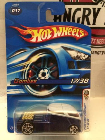 (TAS004203) - Hot Wheels - '06 First Editions - Qombee 17/38, , Cars, Hot Wheels, The Angry Spider Vintage Toys & Collectibles Store